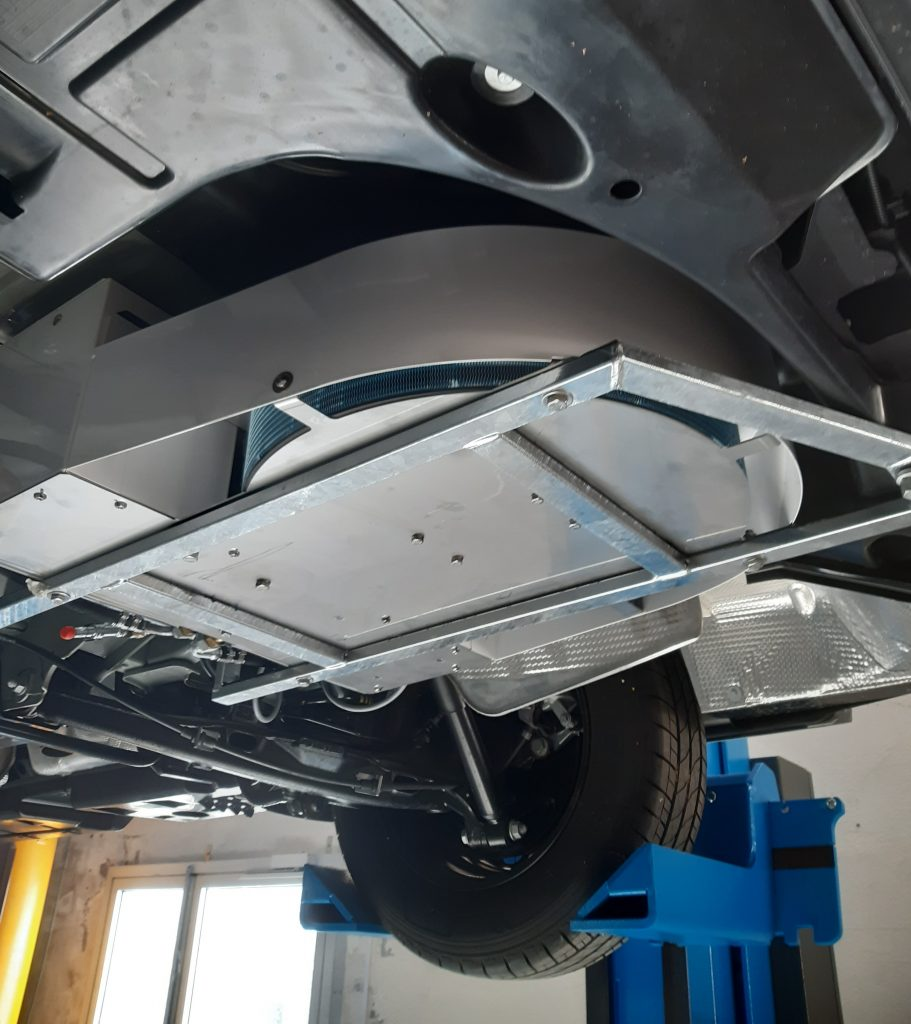 Moorea Sous chassis